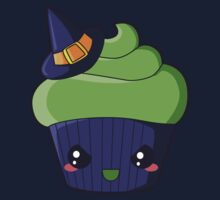 Spooky Cupcake - Wicked Witch Kids Tee