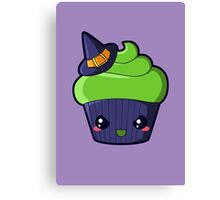 Spooky Cupcake - Wicked Witch Canvas Print