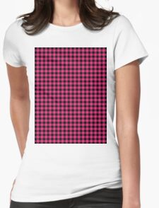 Pattern picnic tablecloth  Womens Fitted T-Shirt