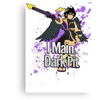 I Main Dark Pit - Super Smash Bros Canvas Print