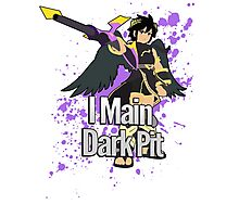 I Main Dark Pit - Super Smash Bros Photographic Print
