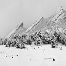 Sliding At The Flatitons, Boulder Colorado by nikongreg