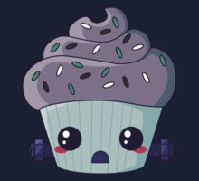 Spooky Cupcake - Frankenstein's Monster Kids Tee