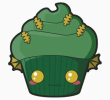 Spooky Cupcake - Swamp Thing One Piece - Long Sleeve