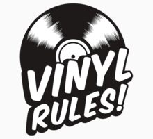 Vinyl Rules! Kids Clothes