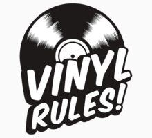 Vinyl Rules! One Piece - Short Sleeve