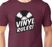 Vinyl Rules! Unisex T-Shirt