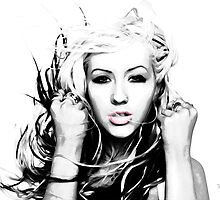 Christina Aguilera - Pop Art by wcsmack