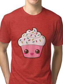 Happy Cupcake Tri-blend T-Shirt