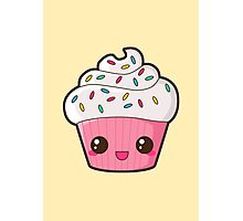 Happy Cupcake Photographic Print