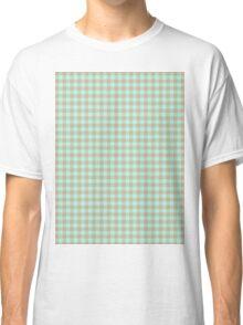 Pattern picnic tablecloth Classic T-Shirt