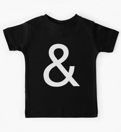 Ampersand (Helvetica Neue) II Kids Tee