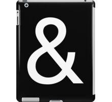 Ampersand (Helvetica Neue) II iPad Case/Skin