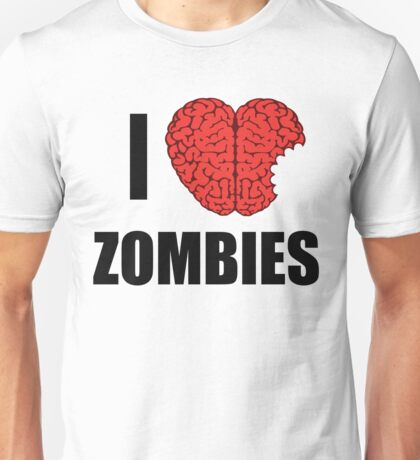 I Shotgun Zombies/ I Heart Zombies  Unisex T-Shirt
