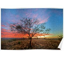 Outback Sunset      (PK) Poster