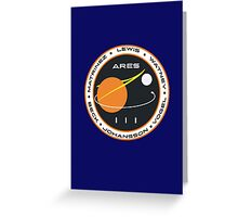 Ares III Greeting Card