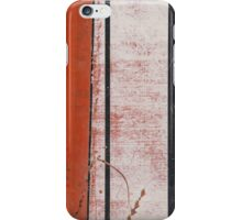 Red Metal iPhone Case/Skin