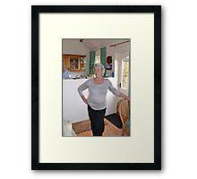Sparkling Margaret Framed Print