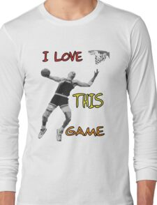 I love this game Long Sleeve T-Shirt