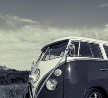 Classic Volkswagon Campervan no. 3 Sticker