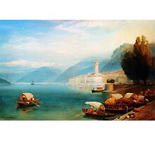 Birket Foster Lake Como Photographic Print