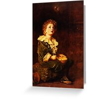 Bubbles Sir John Everett Millais Greeting Card