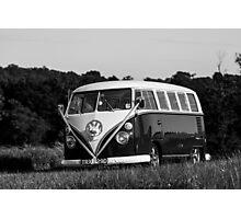 Classic Volkswagon Campervan no. 4 Photographic Print