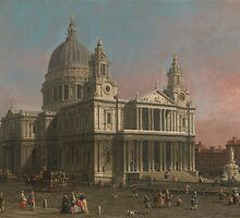 Canaletto St. Paul's Cathedral (c. 1754) by Adam Asar