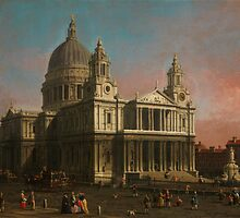 Canaletto   St. Paul's Cathedral by Adam Asar