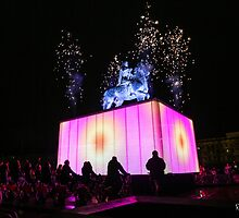 Fireworks racing by RomainChalaye