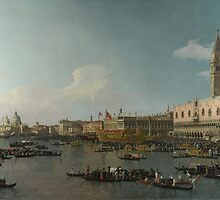Canaletto    Venice The Basin of San Marco on Ascension Day (c. 1740) by Adam Asar