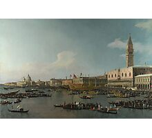Canaletto    Venice The Basin of San Marco on Ascension Day (c. 1740) Photographic Print
