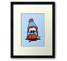 Bert - Christmas - All Wrapped Up Framed Print