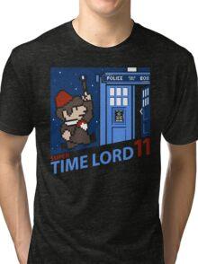 Super Time Lord 11 Tri-blend T-Shirt