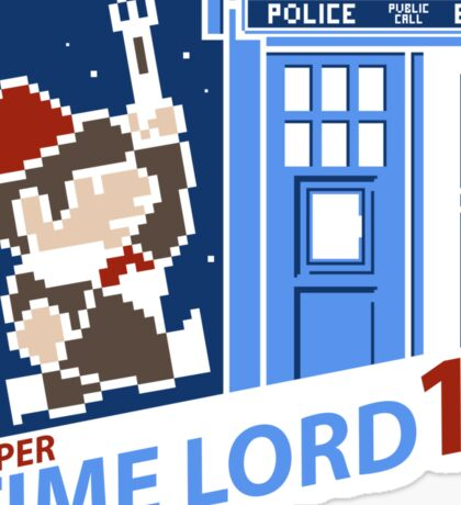 Super Time Lord 11 Sticker