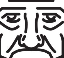 George Carlin Sticker