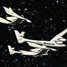 Virgin Galactic - Space Tourists by Dennis Melling