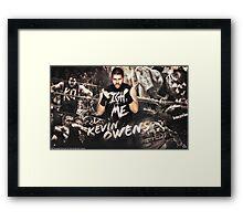Kevin Owens  Framed Print