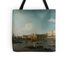 Canaletto  Venice The Basin of San Marco on Ascension Day Tote Bag