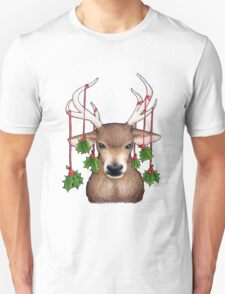 Stag with Holly T-Shirt