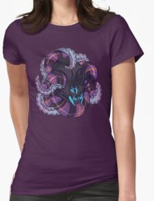 tentacles and skulls Womens Fitted T-Shirt