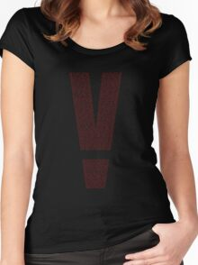 V - Metal Gear Solid V Women's Fitted Scoop T-Shirt