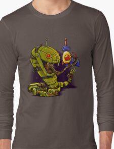 RobotReptileRaygun Long Sleeve T-Shirt