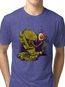 RobotReptileRaygun Tri-blend T-Shirt