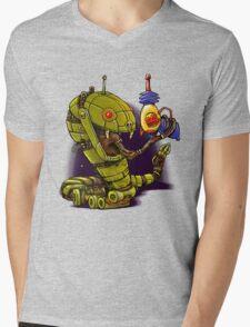 RobotReptileRaygun Mens V-Neck T-Shirt