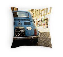 Original Fiat Throw Pillow
