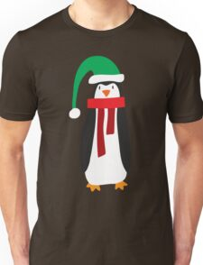 Cute Holiday Penguin Unisex T-Shirt