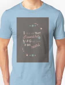 End Of The Day lyrics T-Shirt