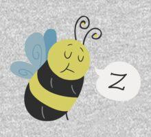 Sleepy Bee One Piece - Long Sleeve