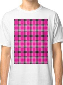Seamless pattern tartan Classic T-Shirt